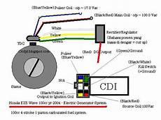 ocdyl h honda wave 100cc cdi electric generator system