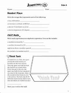 jumpstart grammar worksheets 24838 independent practice grade 6 math jumpstart 26 printable skills sheets and number puzzles