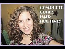 my complete curly hair routine washing styling 2nd day hair 2014 youtube