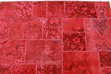 vintage teppich rot in 240x160cm 1001 2145 carpetido de