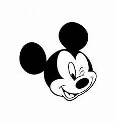 Micky Maus Ausmalbilder Kopf Mickey Mouse Ohren Vorlage Kinder Ausmalbilder
