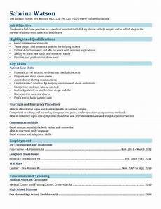 medical assistant resume templates and tips hloom