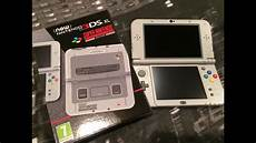 unboxing the new nintendo 3ds xl snes edition