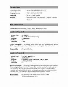 resume skils operating systems resume maninath
