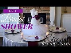diy elegant bridal shower decorations diy bridal shower