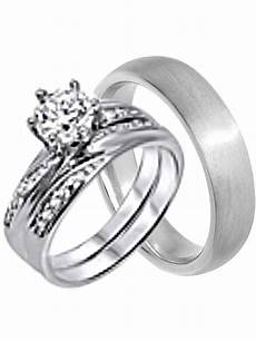 his and hers wedding ring cheap wedding bands for him