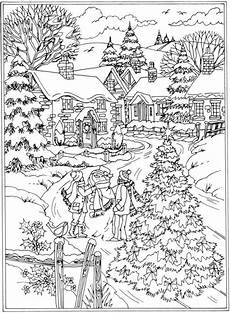 Malvorlagen Winter Erwachsene Pin Auf Coloring Pages