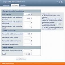 calculer la capacit 233 d endettement