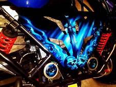 Airbrush Skull Stencils Art Car Bike Tattoo