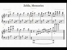 breath of the link s memories piano sheet music youtube