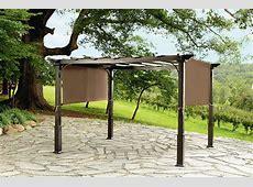 Garden Oasis 9x10 Pergola with Heavy Duty Posts   Outdoor