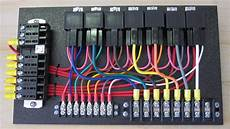 7 Relay Panel W Relay Sockets Ce Auto Electric Supply