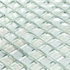 mosaique en verre mosa 239 que p 226 te de verre luxe silver argent 233 e paillette