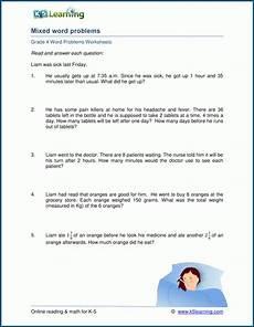 multiplication worksheets word problems grade 4 4674 grade 4 mixed word problem worksheets k5 learning