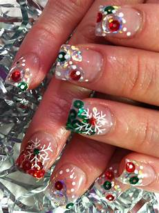nail art christmas nails 2011