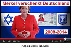angela merkel jüdin deutschland soll sich nicht mehr verarschen lassen