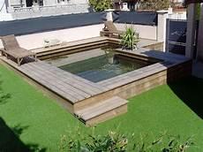 piscine hors sol en bois sur mesure haut de gamme natura