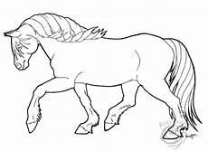 shire paard kleurplaat ausmalbild pferd auf dem feld