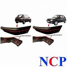 peugeot 205 gti mk 2 90 96 front rear bumper black with trim bolts ebay