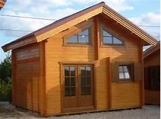 chalet de 20m2 avec mezzanine chalet en bois