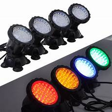 2019 with 4 lights 36 led 6w underwater submersible