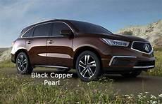 2017 Acura Mdx Black Copper Pearl