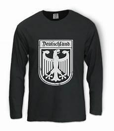 deutschland germany eagle crest sleeve t shirt german