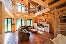 Haus Bauen Holz - holzhaus innen indoo haus design