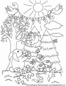 color sheets for spring happy family art original and fun coloring pages