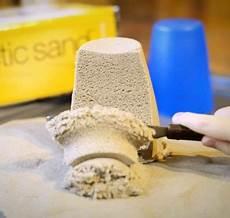 kinetic sand selber machen ein einfaches rezept