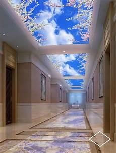 Eclairage Led Int 233 Gr 233 Dans Un Faux Plafond D Hotel