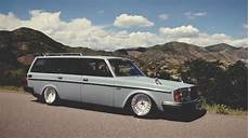 volvo 240 tuning bagged volvo 240 fast car