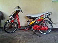 Modifikasi Spin by 100 Modifikasi Motor Suzuki Spin 125 Keren