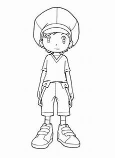 momentai taivus digimon frontier coloring book pages