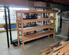 Kellerregal Selber Bauen - storage shelf for the basement