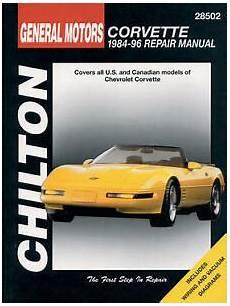 chilton car manuals free download 1984 chevrolet corvette transmission control chilton repair manual chevrolet corvette 1984 96 28502 ebay