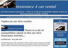 i hire car insurance car hire excess waiver insurance may 2010