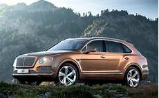 bentley bentayga occasion bentley bentayga 4x4 revealed