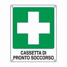 cassetta primo soccorso cartello segnaletico di emergenza cassetta di pronto
