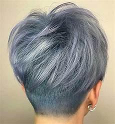 30 back view of short layered haircuts eazy vibe