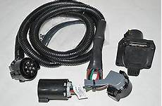 dodge ram truck trailer tow wiring harness 7 way in bed for gooseneck 5th wheel ebay