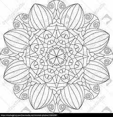 Mandala Malvorlagen Din A4 Mandala Vorlage Malbuch F 252 R Erwachsene Lizenzfreies