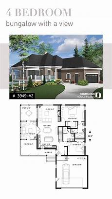 open floor house plans with walkout basement one storey cottage design finished walkout basement
