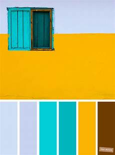 color inspiration light blue turquoise yellow color