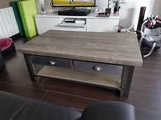 fabriquer table basse style industriel fabriquer table basse style industriel courroie de transport
