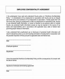 sle confidentiality agreement form 9 free documents in doc pdf