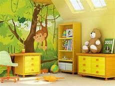 chambre garcon jungle deco chambre bebe garcon jungle visuel 2