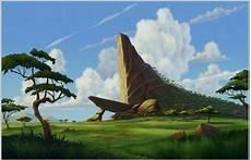 La Rocca Cing - 5x7ft king grassland rocks clouds sky custom photo