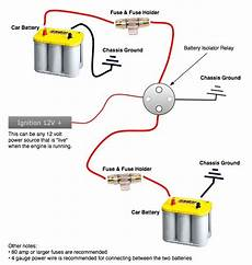 wiring diagram for second battery in car lets talk dual battery isolators toyota fj cruiser