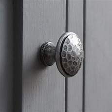 Kitchen Cabinet Knobs Pewter by Pewter Colour Beaten Cabinet Knob